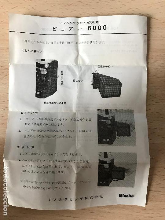 Antigüedades: Minolta Sound Projector 6000 Super 8 Projector - Foto 3 - 77872737