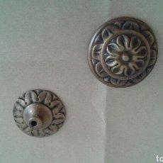 Antigüedades: POMO TIRADOR ANTIGUO DE BRONCE. Lote 77890521