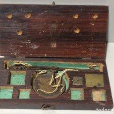 Antigüedades: ANTIGUA BALANZA. Lote 78069019