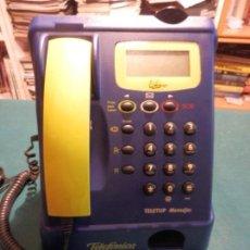 Teléfonos: TELÉFONO DE SOBREMESA DE MONEDAS, TELETUP MENSAJES - TELEFÓNICA - THOMSON C.T. 00905984. Lote 78104761