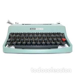 MÁQUINA DE ESCRIBIR PORTÁTIL (Antigüedades - Técnicas - Máquinas de Escribir Antiguas - Olivetti)