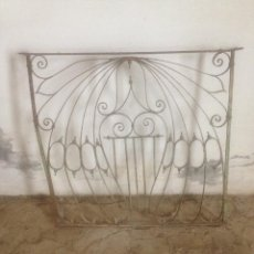 Antigüedades: REJA HIERRO ANTIGUA VENTANA. Lote 90874718