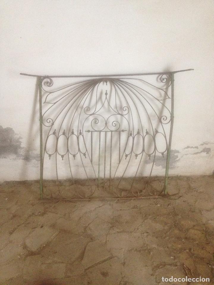 Antigüedades: REJA HIERRO ANTIGUA VENTANA - Foto 8 - 90874718
