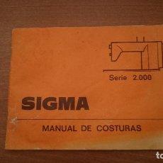 Antigüedades: SIGMA MANUAL DE COSTURA - SERIE 2000. Lote 78479957