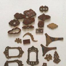 Antigüedades: TOCLE HIERRO Y MUESTRAS, TODO LO QUE SE VE. Lote 78547325