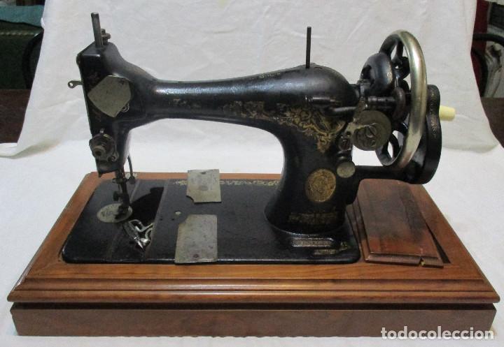 MAQUINA DE COSER SINGER, ESCOCIA 1925 (Antigüedades - Técnicas - Máquinas de Coser Antiguas - Singer)