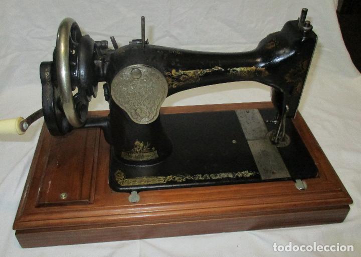 Antigüedades: MAQUINA DE COSER SINGER, ESCOCIA 1925 - Foto 10 - 78693397