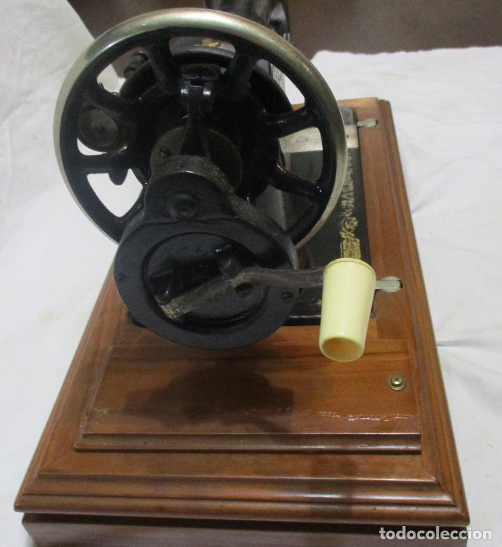 Antigüedades: MAQUINA DE COSER SINGER, ESCOCIA 1925 - Foto 11 - 78693397