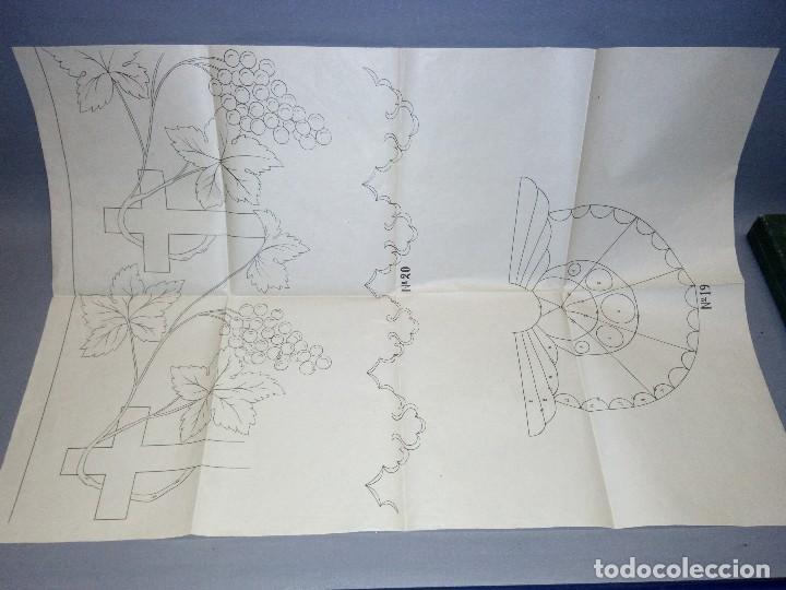 Antigüedades: 918- ANTIGUA MAQUINA/SET DE TEJER + 15 PATRONES ( THE EXCELSIOR MACHINE) - AÑO 1919 ( RARA) - Foto 8 - 78822381