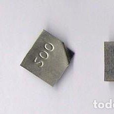 Antigüedades: TRES PESAS PONDERALES 200 / 200 / 20. Lote 78850741