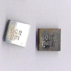 Antigüedades: CUATRO PESAS PONDERALES 1DECI/20MG/200MG/200 MG. Lote 78851077