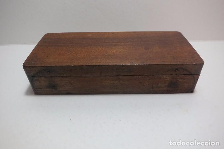 Antigüedades: caja de balanza para el peso de diamantes - Foto 3 - 78910853