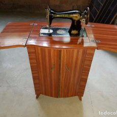 Antigüedades: 1018- MAQUINA COSER SINGER MUEBLE. Lote 78913385