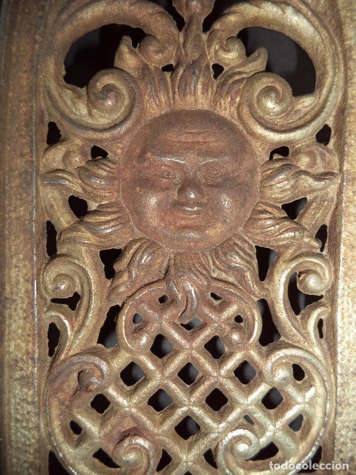 Antigüedades: BASE PARA PLANCHA ANTIGA - Decoraçãi sol - Arte Nova 01 - Foto 2 - 78937093
