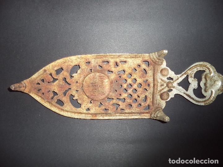 Antigüedades: BASE PARA PLANCHA ANTIGA - Decoraçãi sol - Arte Nova 01 - Foto 5 - 78937093