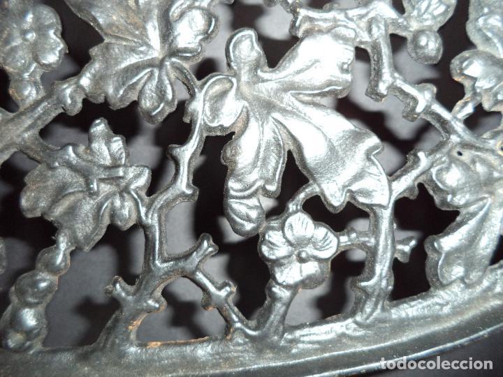 Antigüedades: BASE PARA PLANCHA ANTIGA - Ramos e flores - Arte Nova 03 - Foto 2 - 78937341