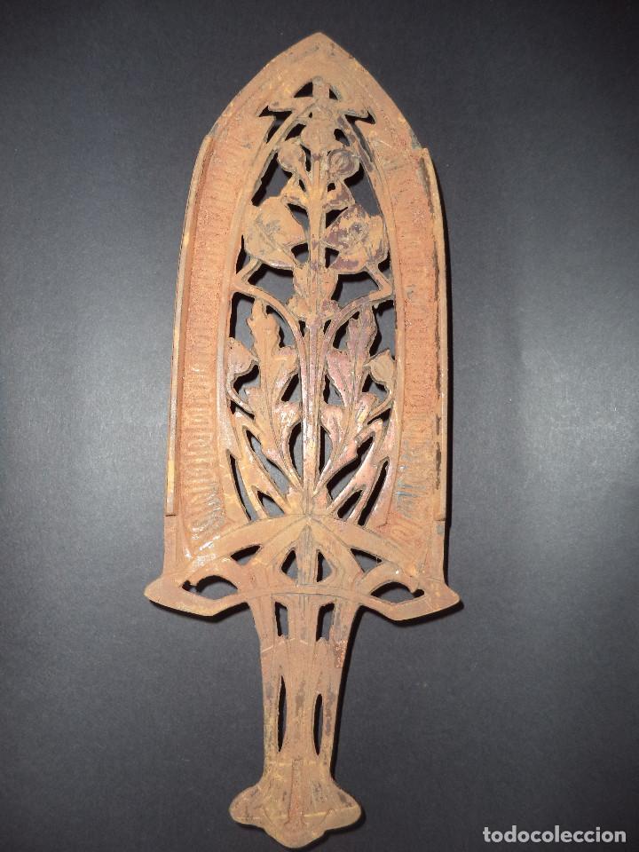 BASE PARA PLANCHA ANTIGA - RAMOS E FLORES - ARTE NOVA 04 (Antigüedades - Técnicas - Planchas Antiguas - Varios)