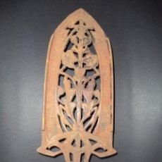 Antigüedades: BASE PARA PLANCHA ANTIGA - RAMOS E FLORES - ARTE NOVA 04. Lote 78937481