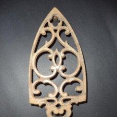 Antigüedades: BASE PARA PLANCHA ANTIGA - CORNUCÓPIAS - ARTE NOVA 05. Lote 78937577
