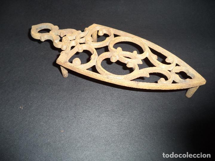 Antigüedades: BASE PARA PLANCHA ANTIGA - Cornucópias - Arte Nova 05 - Foto 2 - 78937577