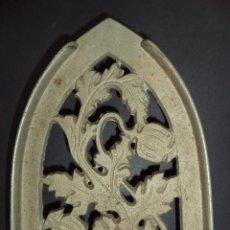 Antigüedades: BASE PARA PLANCHA ANTIGA - RAMOS E FRUTA - ARTE NOVA 07. Lote 78937801