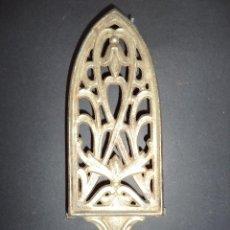 Antigüedades: BASE PARA PLANCHA ANTIGA - FLOR - ARTE NOVA 10. Lote 78938157