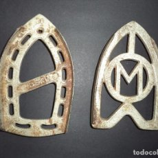 Antigüedades: 2 BASES PARA PLANCHAS ANTIGAS - 1940'S - 11. Lote 78938329
