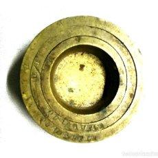 Antigüedades: 3 PONDERALES DE VASO. Lote 78950013