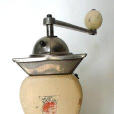 Antigüedades: INUSUAL MOLINILLO DE CAFÉ MARCA -PE DE- MODELO 469. CA. 1940/50. Lote 78940577