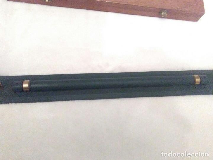 Antigüedades: MUSEO ANTIGUA REGLA NAUTICA DESLIZANTE RODILLOS CARTAS NAUTICAS PERFECTO ESTADO 1920 pesada 350,00 - Foto 5 - 79072453
