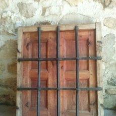 Antigüedades: BONITA ANTIGUA VENTANA CON REJA DE FORJA. BIEN RESTAURADA. Lote 79078730