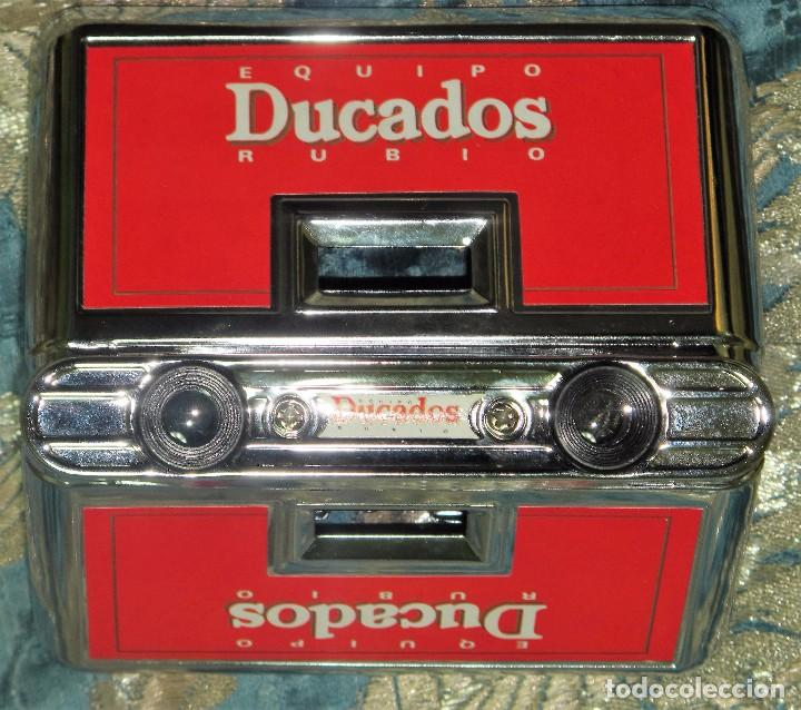 Antigüedades: VISOR ESTEROSCOPICO CON PUBLICIDAD DE LAMARCA DUCADOS - Foto 3 - 79172937