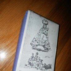 Antigüedades: ORIGINAL CLICHE PLANCHA IMPRENTA NEGATIVO NUESTRA SEÑORA DE LOS MILAGROS ORENSE. Lote 79173013