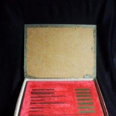 Antigüedades: ANTIGUO Y RARO SET EN RÉPLICAS DE ACUPUNTURA CHINA - DINASTÍA HAN. Lote 79221457