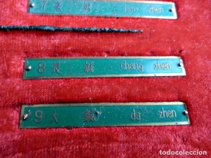 Antigüedades: Antiguo y raro set en réplicas de acupuntura china - Dinastía Han - Foto 5 - 79221457