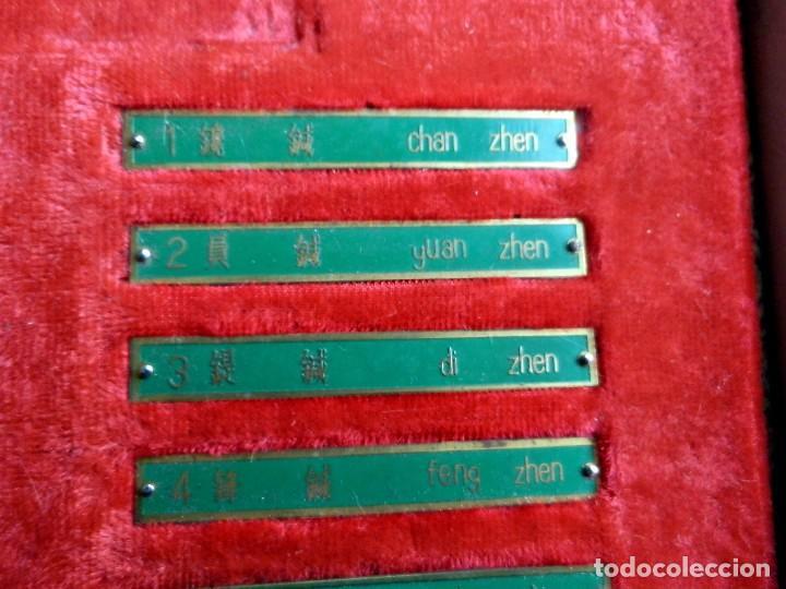 Antigüedades: Antiguo y raro set en réplicas de acupuntura china - Dinastía Han - Foto 7 - 79221457