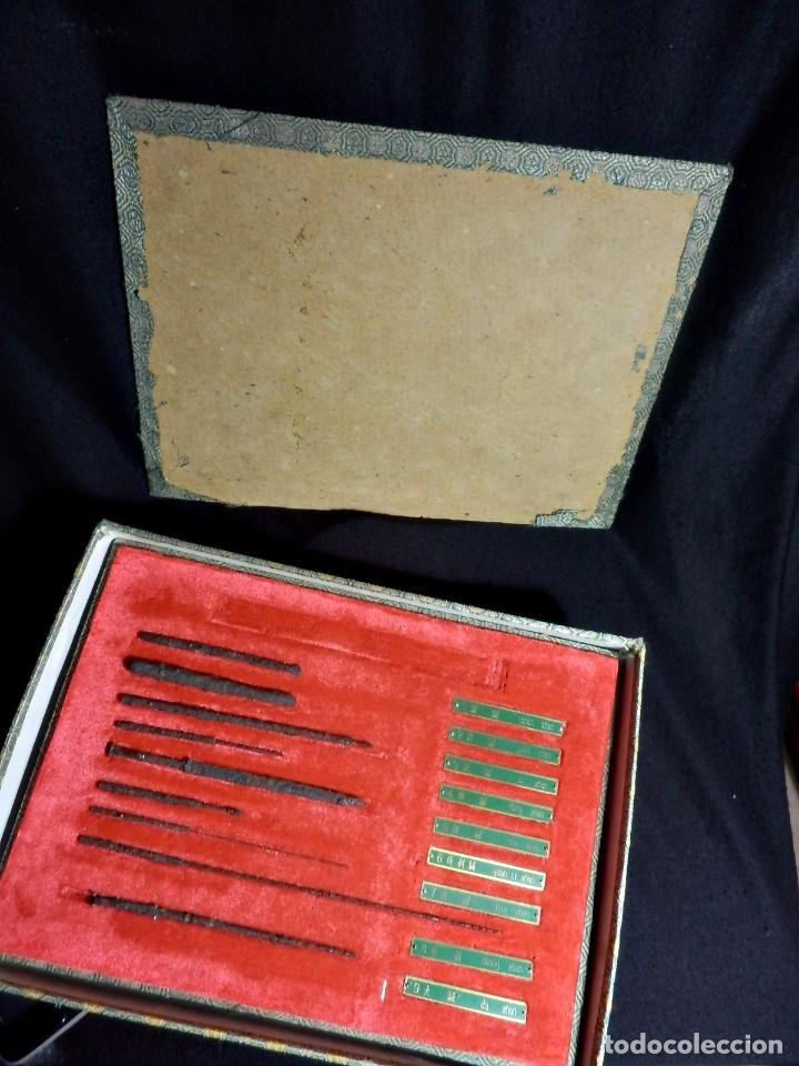 Antigüedades: Antiguo y raro set en réplicas de acupuntura china - Dinastía Han - Foto 10 - 79221457