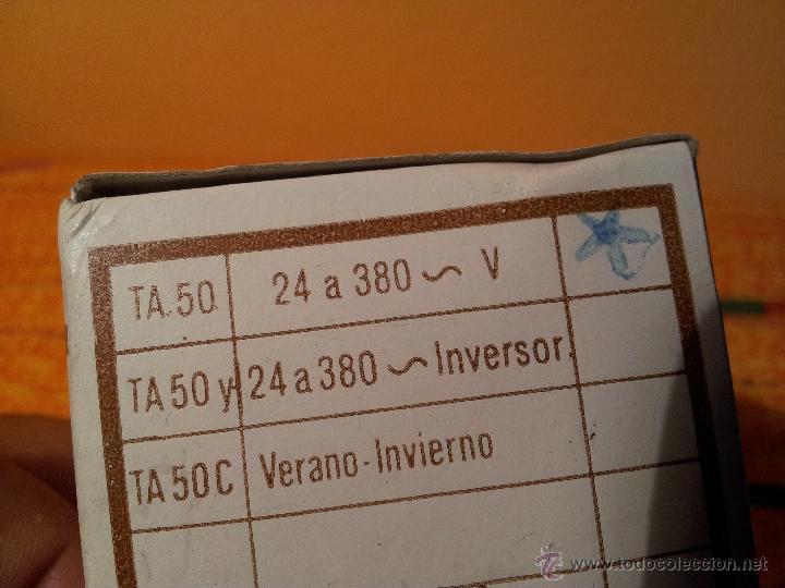 Antigüedades: ANTIGUO TERMOSTATO DE AMBIENTE--SOPAC...SIN USO EN CAJA CON INSTRUCCIONES - Foto 5 - 79242485