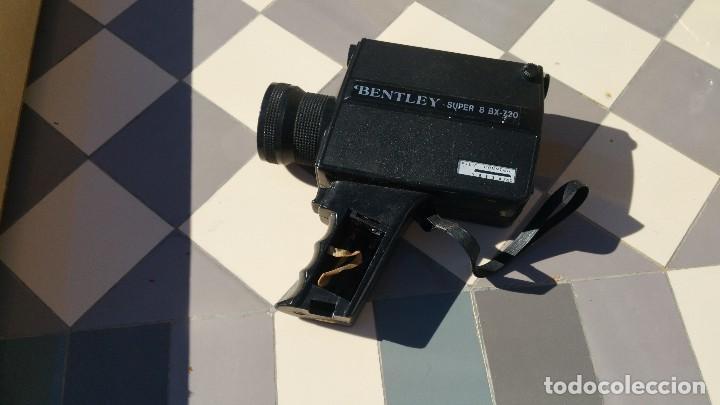 Antigüedades: camara de cine bently super 8 bx720 - Foto 2 - 79321149