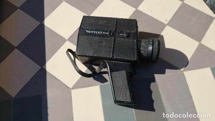 Antigüedades: camara de cine bently super 8 bx720 - Foto 3 - 79321149