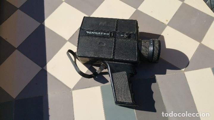 Antigüedades: camara de cine bently super 8 bx720 - Foto 4 - 79321149