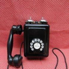 Teléfonos: ANTIGUO TELEFONO DE PARED, FABRICADO POR ESTÁNDAR ELÉCTRICA S.A. CIRCA 1930. EXCELENTE CONSERVACIÓN. Lote 79546745