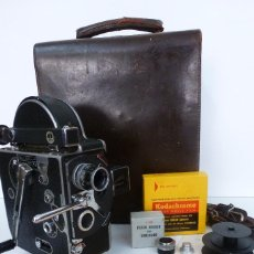 Antigüedades: CAMARA POILLARD BOLEX MODELO H 1957. Lote 79750705