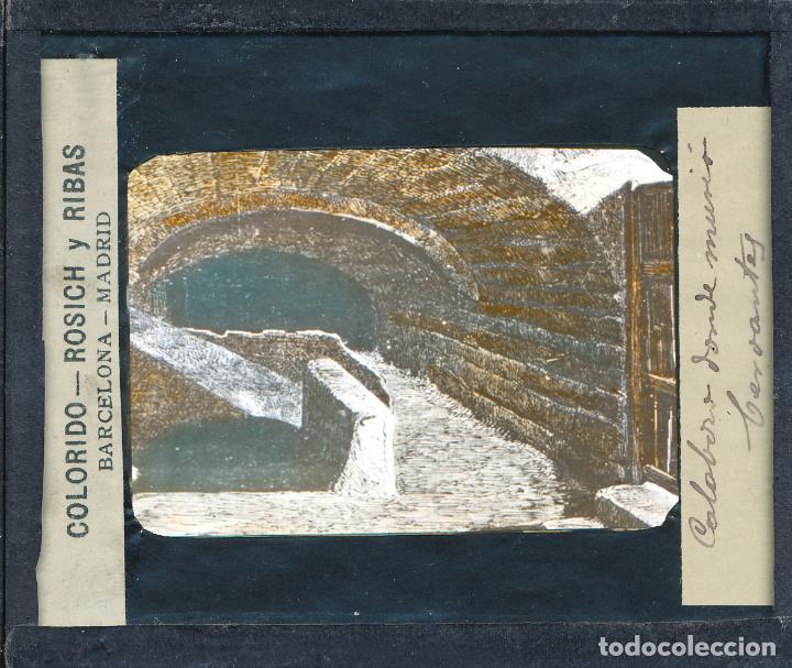 Antigüedades: COLECCIÓN DE VISTAS DON QUIJOTE DE LA MANCHA + LINTERNA ICA, DRESDEN, PRINCIPIOS S.XX - Foto 6 - 79858461