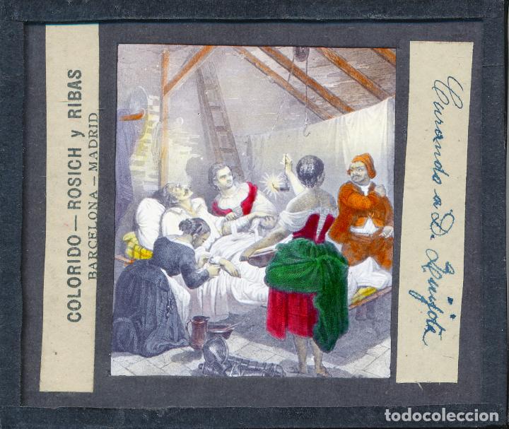 Antigüedades: COLECCIÓN DE VISTAS DON QUIJOTE DE LA MANCHA + LINTERNA ICA, DRESDEN, PRINCIPIOS S.XX - Foto 7 - 79858461