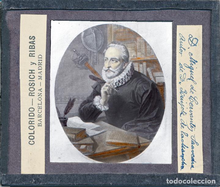 Antigüedades: COLECCIÓN DE VISTAS DON QUIJOTE DE LA MANCHA + LINTERNA ICA, DRESDEN, PRINCIPIOS S.XX - Foto 9 - 79858461