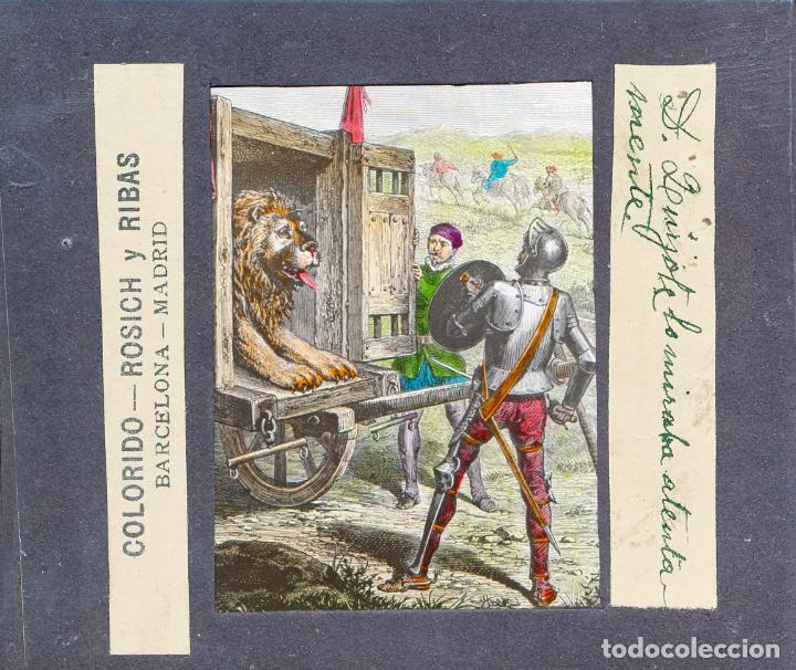 Antigüedades: COLECCIÓN DE VISTAS DON QUIJOTE DE LA MANCHA + LINTERNA ICA, DRESDEN, PRINCIPIOS S.XX - Foto 11 - 79858461