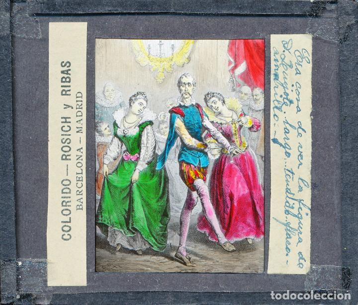 Antigüedades: COLECCIÓN DE VISTAS DON QUIJOTE DE LA MANCHA + LINTERNA ICA, DRESDEN, PRINCIPIOS S.XX - Foto 18 - 79858461