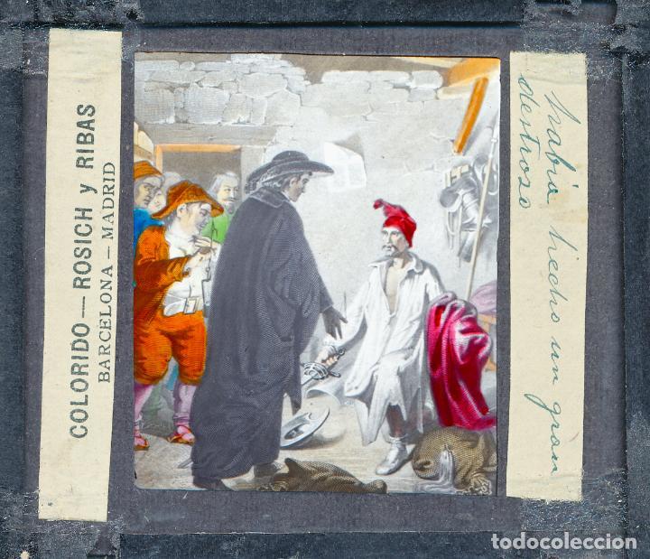 Antigüedades: COLECCIÓN DE VISTAS DON QUIJOTE DE LA MANCHA + LINTERNA ICA, DRESDEN, PRINCIPIOS S.XX - Foto 19 - 79858461