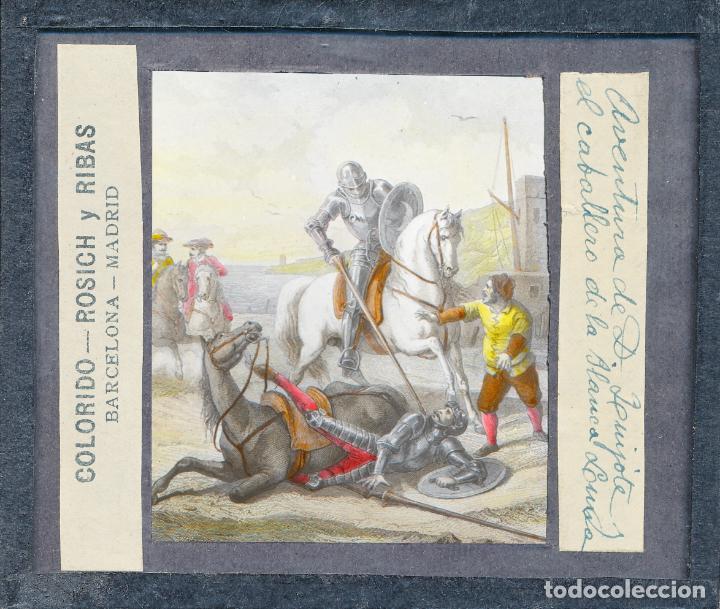 Antigüedades: COLECCIÓN DE VISTAS DON QUIJOTE DE LA MANCHA + LINTERNA ICA, DRESDEN, PRINCIPIOS S.XX - Foto 20 - 79858461
